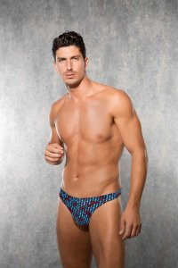 Doreanse Horse Plaid Thong Underwear 1226