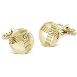 Duncan Walton Selwood Cufflinks Gold C2725