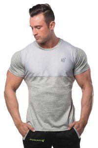 Jed North Apex Mesh Performance Short Sleeved T Shirt Grey