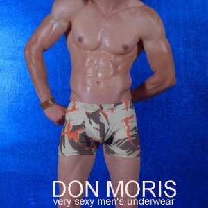 Don Moris Camouflage Boxer Brief Underwear DM080849