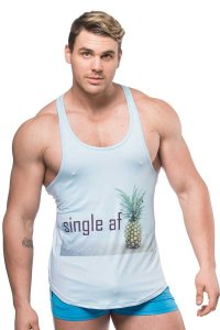 JJ Malibu Single AF Tank Top T Shirt JJTOP019