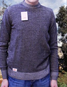 Elle Creazioni Arizona Sweater Brown/Dark Beige