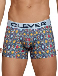 Clever Tradition Boxer Brief Underwear Blue 2442