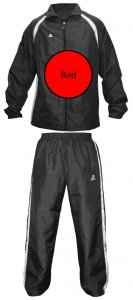 Akadema Track Suit Red STSJK