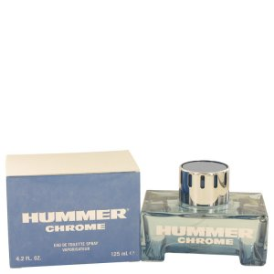 Hummer Chrome 4.2 oz / 124.20 mL Eau De Toilette Spray Men's...
