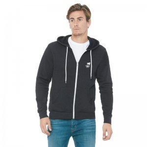 CA-RIO-CA Crest Logotipo Zip Up Hoodie Long Sleeved Sweater ...