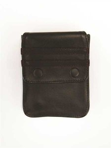 Mister B Harness Leather Wallet Black 601311