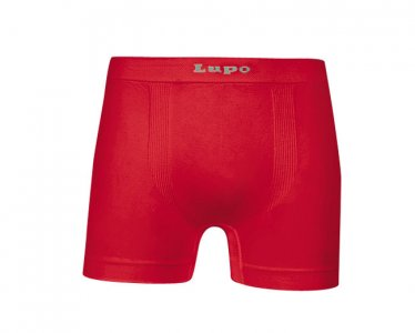 Lupo Micromodal Seamless Boxer Brief Underwear Red 661-01