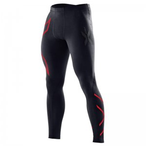2XU Thermal Compression Tights Pants Red MA1940B