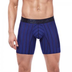 Inizio Hinka Microfibre Long Leg Boxer Brief Underwear Dark ...