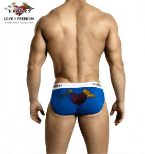 Big Roger Sport Brief Underwear Blue BRU1101