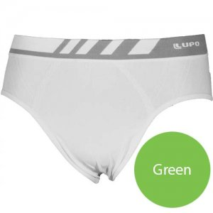 Lupo Seamless Microfiber Brief Underwear Green 691-2