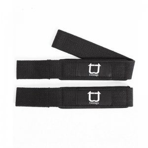 Twotags Weight Lifting Straps Sportswear Black