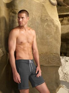 Sauvage Athletic Midlength Shorts Swimwear Charcoal 525