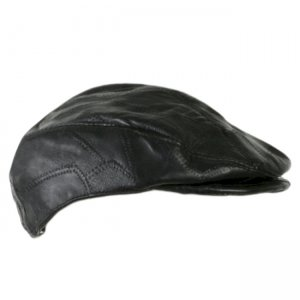 Dakota Leather Company Genuine Leather Driving Hat DBEDL133