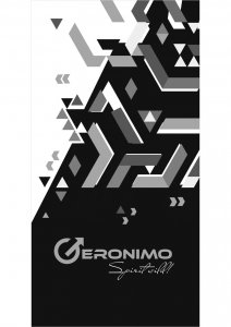 Geronimo Towel Grey 1719X1-2