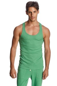 4-rth Sustain Tank Top T Shirt Bamboo Green