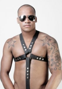 Whip It Leather Harness HN6