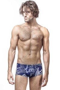 L'Homme Invisible Orient Mini Boxer Brief Underwear Navy MY18-ORI-049