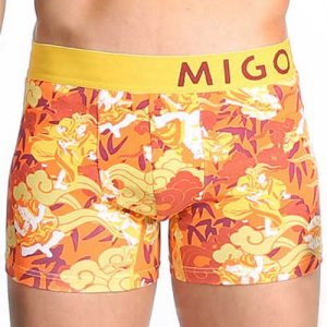 MIGO Warriors Boxer Brief Underwear Orange