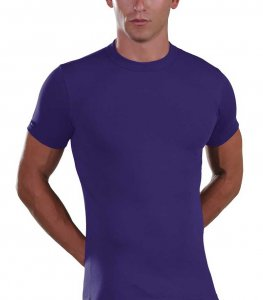 Lord Elastic Short Sleeved T Shirt Purple 1200