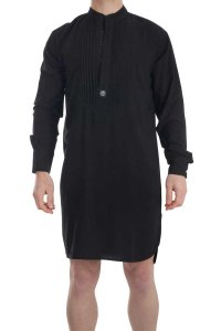 L'Homme Invisible Sensations Nightshirt Loungewear Black HW1...