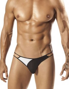 PPU Vale Strappy Thong Underwear Black 1570