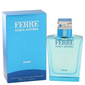 Gianfranco Ferre Acqua Azzurra Eau De Toilette Spray 1.7 oz ...