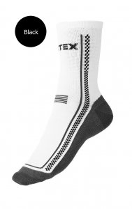 Litex Crew Socks Black 99615
