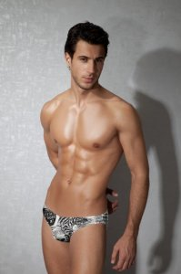 Doreanse Newspaper Slip Brief Underwear 01293