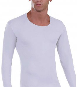 Lord Oversized Long Sleeved T Shirt White 1528