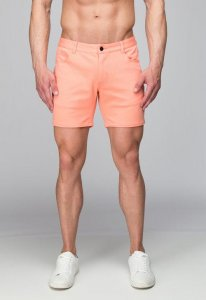 ST33LE Stretch Knit Shorts Coral STL1932