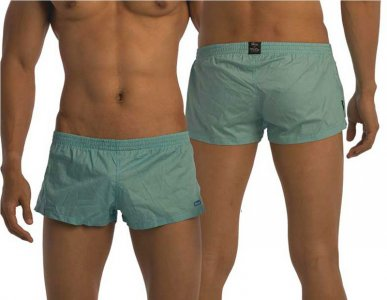 Groovin Summer Cotton Loose Boxer Shorts Underwear Green