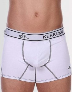 Kear&Ku Kooku Sport Fit Boxer Brief Underwear White