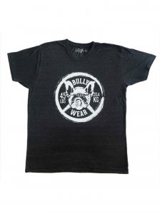 Bullywear 45Lbs Plate Short Sleeved T Shirt Black SST3-CREW