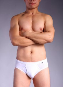 Feel U Micro Modal Traditional Brief Underwear White 71514925