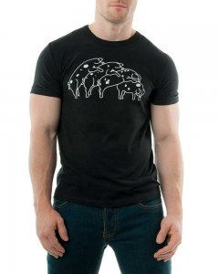 Nasty Pig Humping Pigs Short Sleeved T Shirt Black 1243