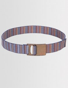 Kear&Ku Multi Colored Striped Belt