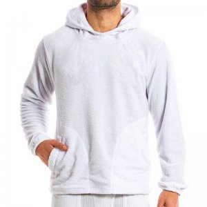 Modus Vivendi Tiger Hoodie Long Sleeved Sweater White 15851