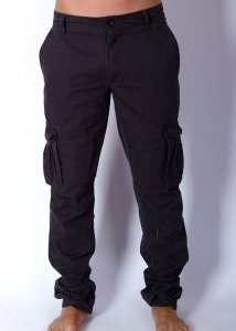 Deacon Tough South Cargo Pants Oil Grey