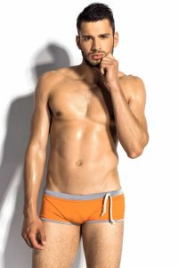 m8mate June Warm Square Cut Trunk Swimwear