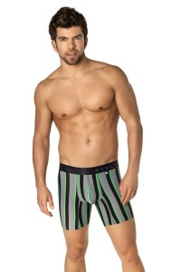 Xtremen Microfiber Boxer Brief Underwear Black 51330