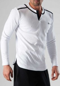 Geronimo Long Sleeved T Shirt White 1277BL7