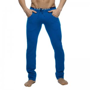 Addicted Combined Waistbrand Pants Royal Blue AD416