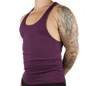 Ava-j Vest Tank Top T Shirt Potent Purple