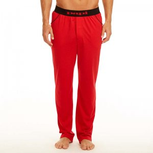 Papi Knit Jersey Sleep Pants Red 627226