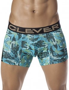 Clever Natural Snake Boxer Brief Underwear Green 2258