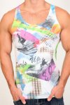 Pistol Pete Surf's Up Tank Top T Shirt TK100-603