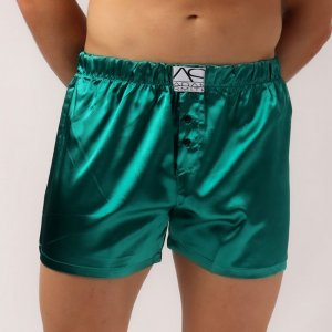 Adam Smith For U Sweetheart Loose Boxer Shorts Underwear Green AS4-146