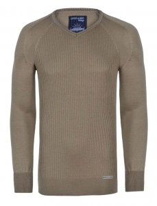 Giorgio Di Mare Jersey Long Sleeved Sweater Beige GI431687